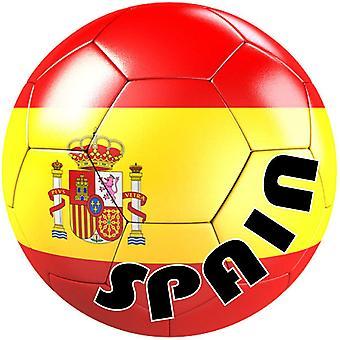 أوتوكولانت ملصقا فريق سيارة موتو كرة القدم العلم بالون كرة القدم اسبانيا