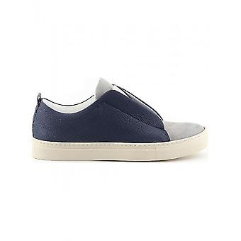 Made in Italia-schoenen-sneakers-GREGORIO_BLU_GRIGIO-heren-midnightblue, darkgray-46