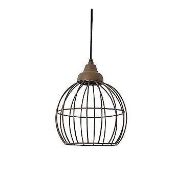 Light & Living Hanging Pendant Lamp D20x25cm Benthe Wire Old Rust