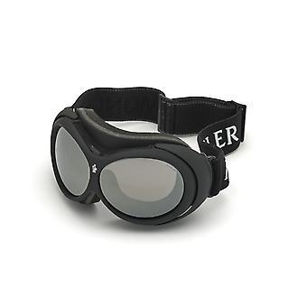 Moncler ML 0130 05C Black Other/Smoke Mirror Sunglasses
