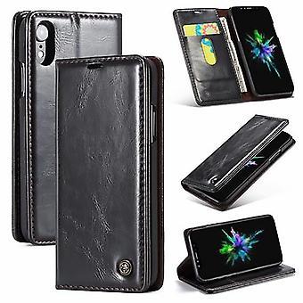 Case voor iPhone Xr Zwarte Kaarthouder