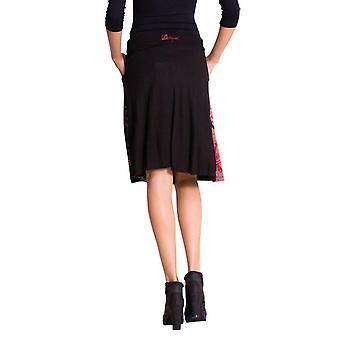 Desigual Women's Flared Bright Floral Alba Skirt