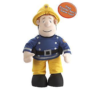 Fireman Sam Talking Sam Plush
