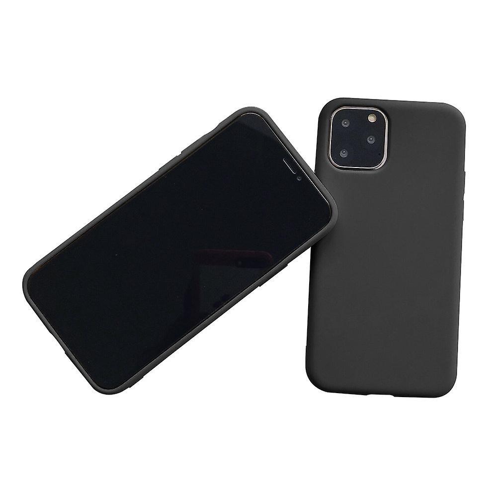 Matte Black Soft Case for iPhone 11 Pro Max