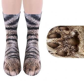 Dierlijke sokken-vrouwen volwassen Unisex-kat