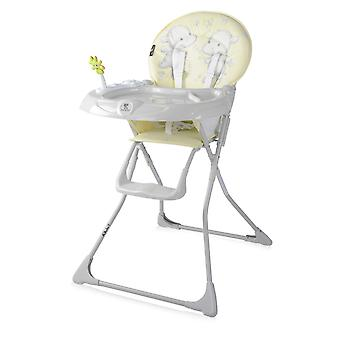Lorelli children's high chair JOLLY cup recess, foldable, toys, washable