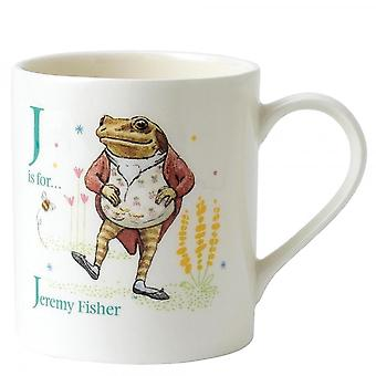 Beatrix Potter J Jeremy Fisher Mug