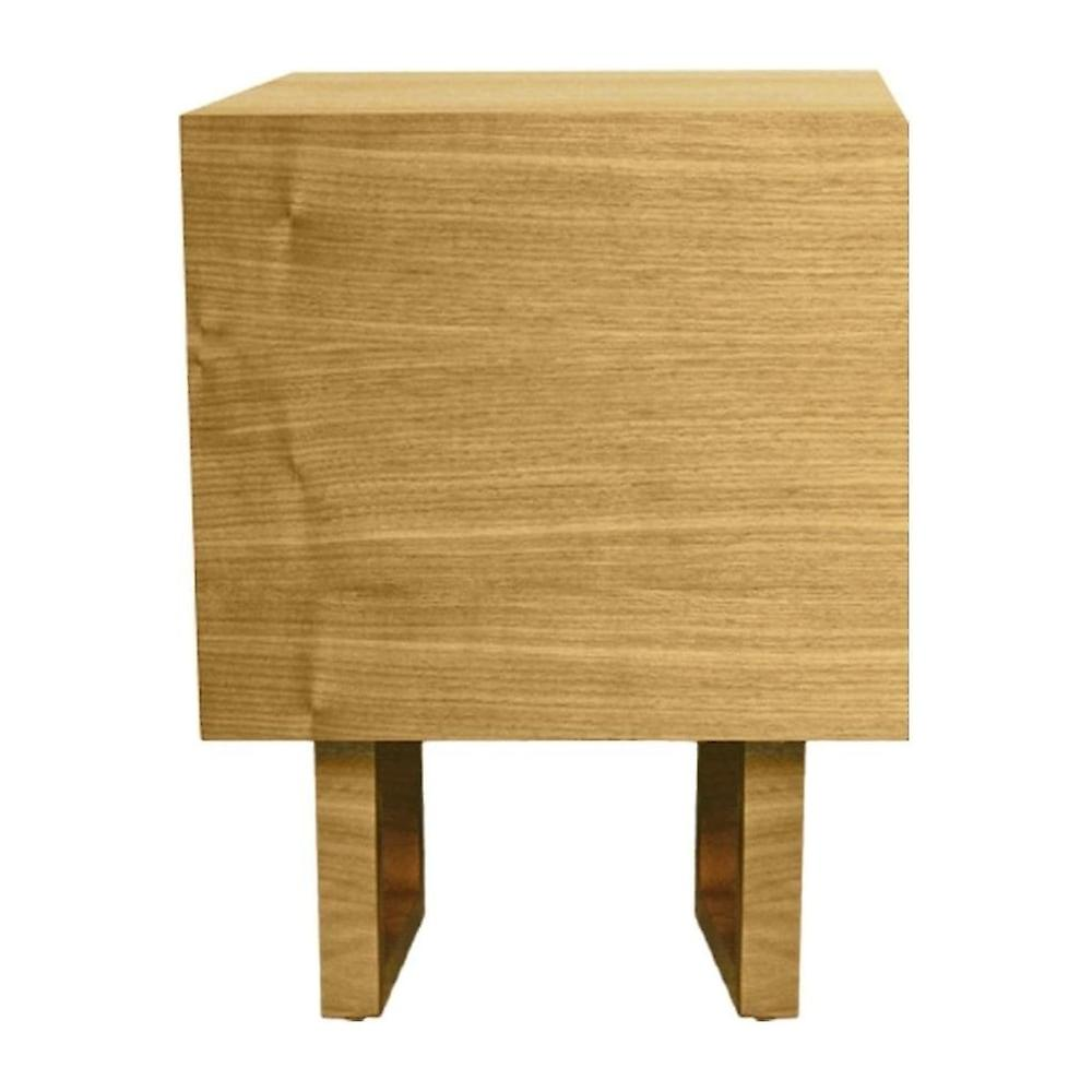 Fusion Living Scandi Style Oak And Grey Side Table