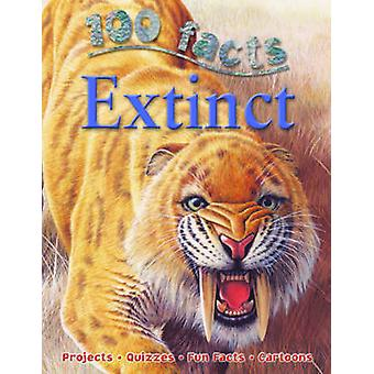 100 faits éteintes par Steve Parker - livre 9781848102712