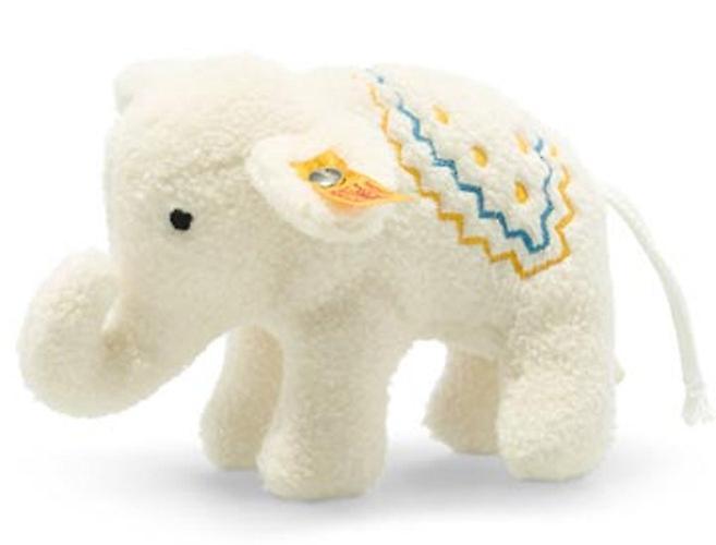 Steiff elephant rattle10 cm