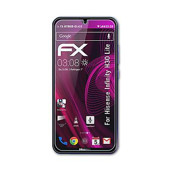 atFoliX 3x Protective Film compatible with Hisense Infinity H30 Lite Screen Protector clear&flexible