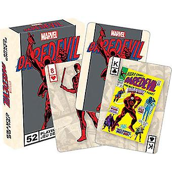 Marvel daredevil retro playing cards