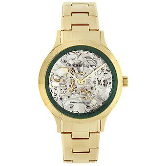 Christian lacroix Automatic Analog Man Watch with CLMS1812 Stainless Steel Bracelet