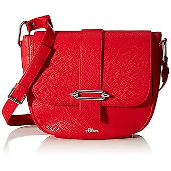 s.Oliver (Bags) 39,001.94.2950 Women's Pockets Red shoulder bag (Red) 8.5 Cmx 195 Cmx 25 Centimeters (B x H x T)