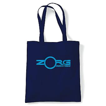 Zorg Industries Fifth Element Movie Inspired, Tote, Reusable Shopping Canvas Bag