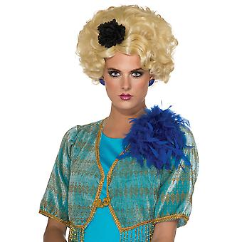 Chaperone Effie trinket Escort a fome jogos filme mulheres peruca traje