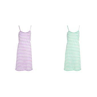 Tom Franks Womens/Ladies Jersey Chemise Pyjamas