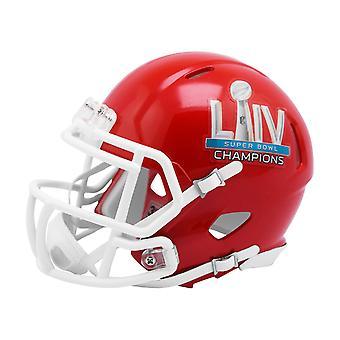 Riddell Mini Football Helmet SUPER BOWL 54 Kansas City Chiefs