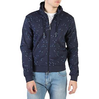 Armani Jeans Original Men All Year Sweatshirt Blue Color - 58016