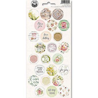 Piatek13 - Sticker sheet Till we meet again 03 P13-TIL-13 10.5x23 cm