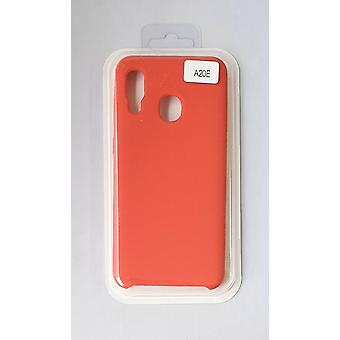 Siliconen cover case voor Samsung A20e Red