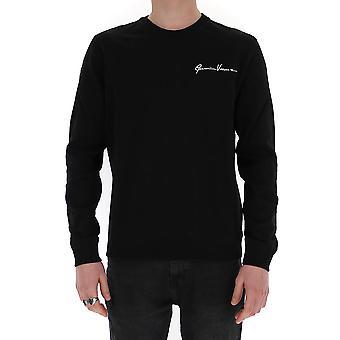 Versace A85327a231242a2024 Men's Black Cotton Sweatshirt