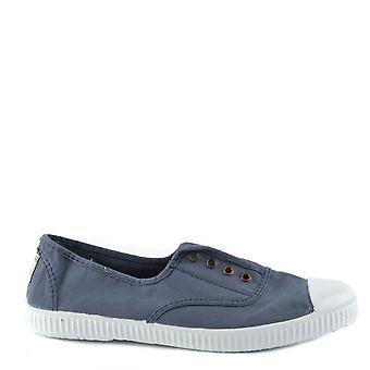 Victoria Shoes Dora Jeans Canvas Plimsoll