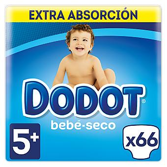 Dodot Extra Dry Baby Size 5 with 66 Units (Baby & Toddler , Diapering , Diapers)