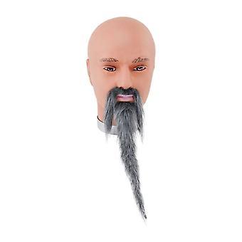 Wizard Beard + Tash. Grey