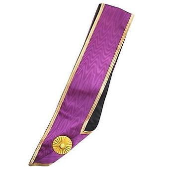 Masonic memphis misraim honorary collar - 30 years