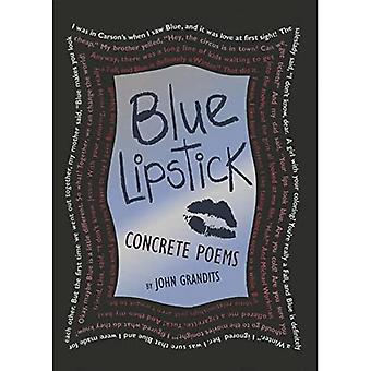 Blå læbestift