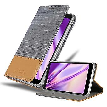 Case for WIKO Y60 Foldable mobile phone case - Cover - with stand function and card compartment