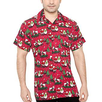 Club cubana men's regular fit classic short sleeve casualshirt ccx5