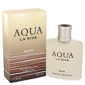 La Rive Aqua La Rive Eau De Toilette Spray 3 oz/90 ml (miehet)