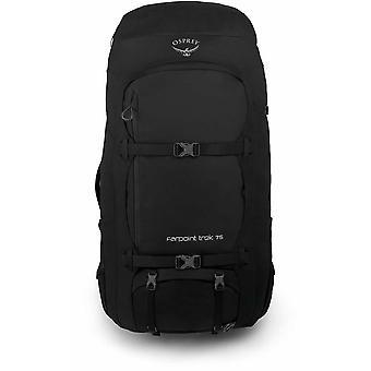 Osprey Farpoint Trek 75 rucsac - negru