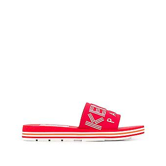 Kenzo Ezcr009007 Men's Sandálias de Tecido Vermelho