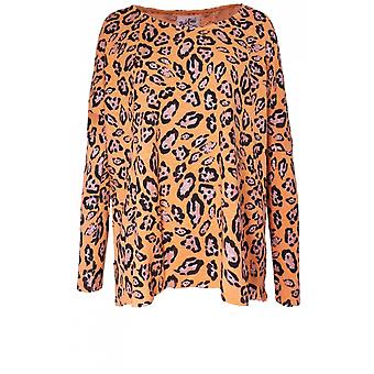 A Postcard from Brighton Shakira Melba Leopard Print Top