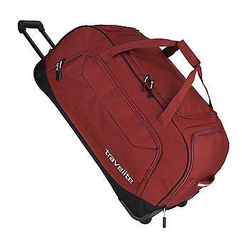 travelite Kick Off Trolley Reisetasche 2 Rollen, 77 cm, 120  L, Rot