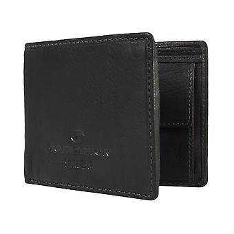 Monedero cartera monedero negro TOM TAILOR hombres 1445