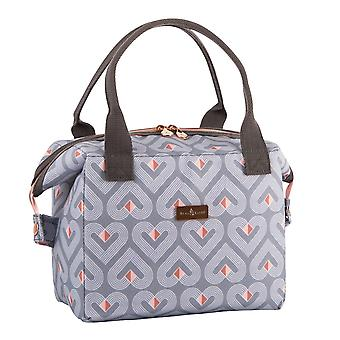 Beau & Elliot Vibe Grey Convertible Lunch Bag