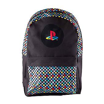 Playstation Backpack Retro Controller Symbols Logo new Official Black Unisex