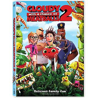Cloudy with a Chance of Meatballs 2 [DVD] USA import