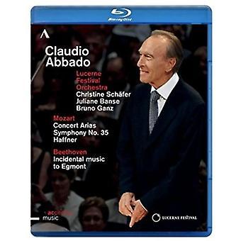 Claudio Abbado - Luzern Festivalorkest [BLU-RAY] USA import
