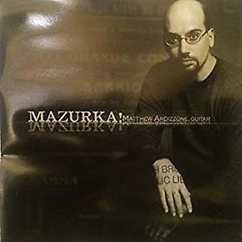 Matthew Ardizzone - Mazurka! [CD] USA import