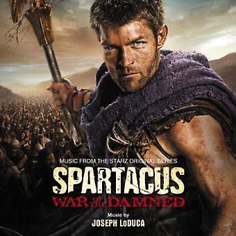 Joseph Loduca - Spartacus: Guerre des damnés [musique de la Starz Serie Original] [CD] importation USA