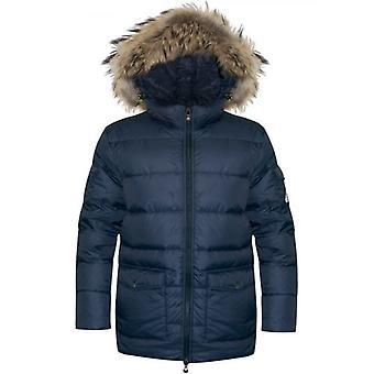 Pyrenex Amiral Blue Authentic Matte Jacket