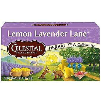 Celestial Seasonings Tea Lemon Lavender Lane