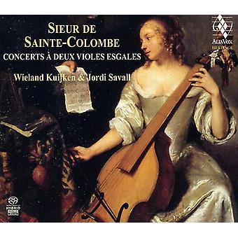 M. Sainte-Colombe - Sieur De Sainte-Colombe: Concerts   Deux Violes Esgales [SACD] USA import