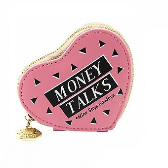 Sweet Tooth Womens/Ladies Money Talks Heart Purse