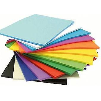 500 BULK Assorted A4 Card Sheets for Crafts   Coloured Card for Crafts